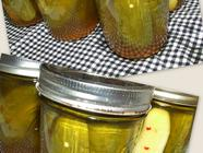 Crisp Canned Pickles
